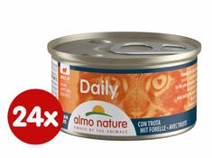 Almo Nature Daily Menu konserwa z pstrągiem 24x85 g