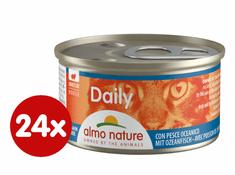 Almo Nature Daily Menu Pena s morskými rybami 24 x 85 g