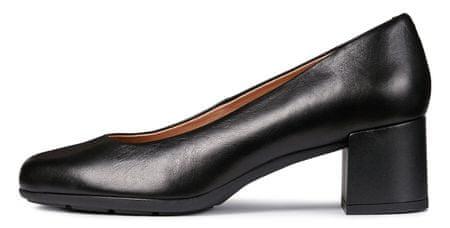 Geox ženski čevlji s peto New Annya Mid D92CBA 00085, 36, črni