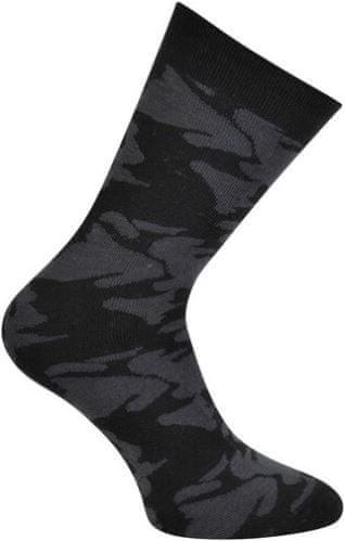 Dare 2b Detské lyžiarske ponožky Dare2b VIGOR sivá / čierna 25-31