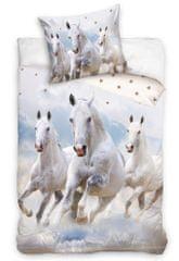 Carbotex Bavlnené obliečky Kone v oblakoch