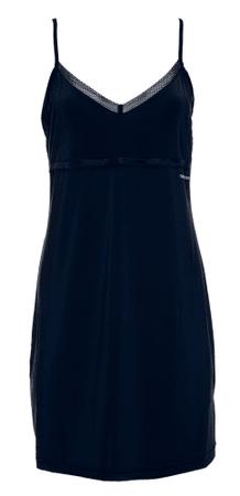 Tommy Hilfiger dámská noční košilka UW0UW01944 Strappy Dress S tmavě modrá