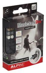 Alpine MusicSafe Pro Black Špunty do uší