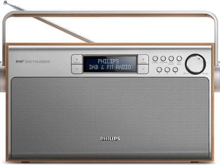 Philips AE5220, stříbrná/hnědá