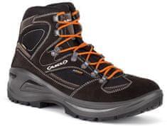 Aku pohodni čevlji 346 Sendera GTX, črno-oranžni