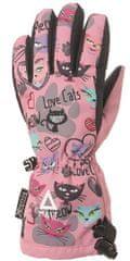 Matt 3216 Love Cats rukavice za djevojčice