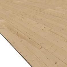 KARIBU dřevěná podlaha KARIBU MÜHLHEIM 5 (41959)