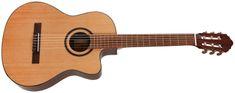 Cort AC160CFTLNAT Klasická elektroakustická gitara