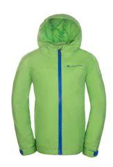 ALPINE PRO Chlapecká bunda Vibo - zelená