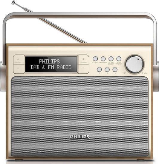 Philips AE5020, stříbrná/hnědá
