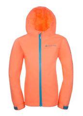 ALPINE PRO Dívčí bunda Vibo - oranžová