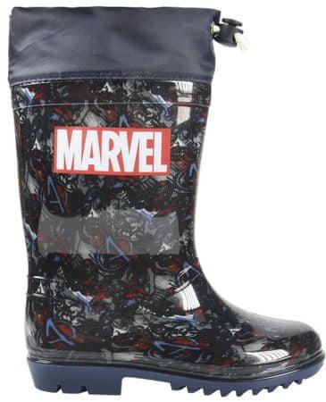 Disney kalosze chłopięce Avengers 24 niebieskie