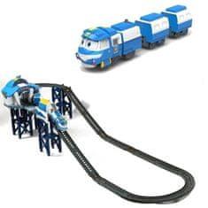 Silverlit vlaková dráha Robot Train - 124 cm