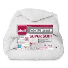 Abeil prošívaná přikrývka Supersoft, 140x200cm, bílá, 100% polyester