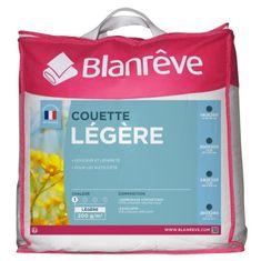 Blanreve lehká přikrývka, 140x200cm, bílá, 52% polyester, 48% bavlna