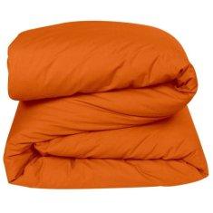 Vent Du Sud prošívaná pokrývka na postel, 200x200 cm, oranžová