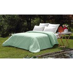 Vent Du Sud prošívaná pokrývka na postel, 220x240 cm, zelená