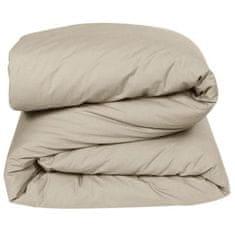 Vent Du Sud prošívaná pokrývka na postel, 200x140 cm, hnědá