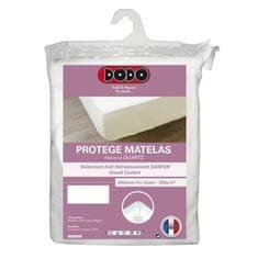 DoDo prošívaný chránící povlak na matraci, 160 x 200 cm, bílá