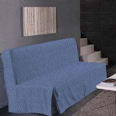 Hometrend elegantní potah na pohovku, vhodný pro trojsedačku, 140x190 cm, barva modrá
