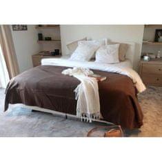 Cdiscount přehoz přes postel, hnědá, 180 x 220 cm