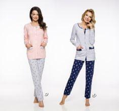 TARO Dlouhé dámské pyžamo 2122 FABIA M-XL 2019/2020 J