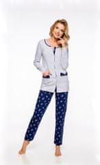 TARO Dámské pyžamo Taro Fabia 2122 dł/r M-XL '20