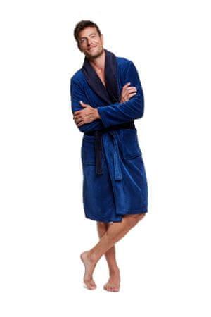 Henderson Pánský župan VIPER 37427 tmavě modrá M + dárek zdarma