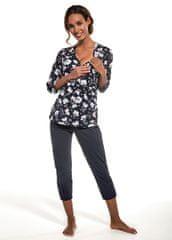 Cornette Dámské pyžamo Cornette 351/219 Ellen 3/4 S-2XL