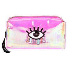 J1MO71 Kozmetikai táska , Rózsaszín gyöngyház