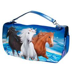 Miss Melody Torba na ramię Miss Melody, Niebieski, 3 konie
