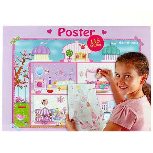 My Style Princess Plagát , so samolepkami, 60 x 42 cm