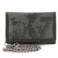 7Skills pénztárca, Zöld, lánccal