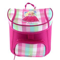 Princess Mimi Mini batůžek , Růžový, pastelové kostky, a Lou