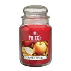 Price's Candles Svíčka ve skleněné dóze Price´s Candles, Pikantní jablko, 630 g