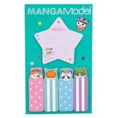 Manga Model Samolepiace bločky ASST, Hviezdička, 5 ks