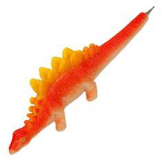 Dino World Kuličkové pero ASST, Oranžový dinosaurus