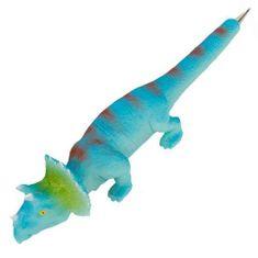 Dino World Guličkové pero ASST, Modrý dinosaurus