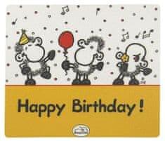 Sheepworld Ovčja podloga za miško, Podloga za miško Vesel rojstni dan, Ovčji svet