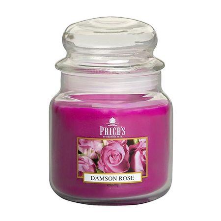 Price's Candles Sveča v steklenem kozarcu Sveče, Vrtnice, 411 g