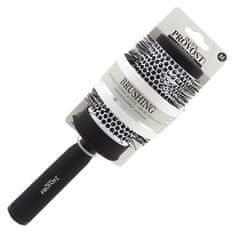 Kartáč na vlasy Franck Provost, Keramický, 80 mm - thermoaktivní, barva černá