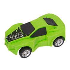 Monster Cars Guma ve tvaru auta ASST, Barva zelená