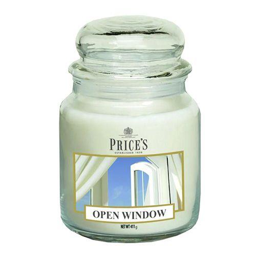 Price's Candles Svíčka ve skleněné dóze Price´s Candles, Otevřené okno, 411 g