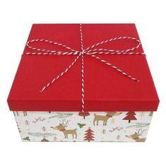 Idena Dárková krabička , Veselé Vánoce, 22.5 x 11.5 cm