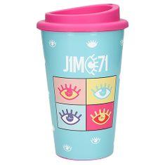 Pohár na pití J1MO71 ASST, Modrý, 350 ml