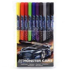 Monster Cars Fixy , 10 barev