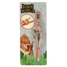 Dino World Tužka ASST, Hnědý svítící dinosaurus