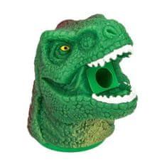 Dino World Ořezávátko ASST, Hlava dinosaura s krátkou tlamou, zeleno-červená