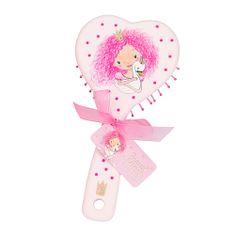 Princess Mimi Hřeben ASST, Světle růžový, ve tvaru srdce