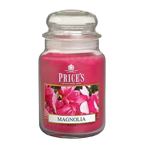 Price's Candles Svíčka ve skleněné dóze Price´s Candles, Magnólie, 630 g